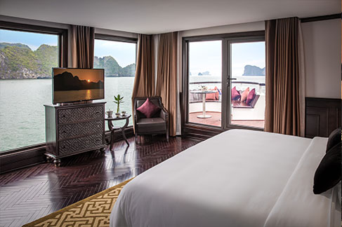 Cabinet Suite - president cruise halong bay vietnam